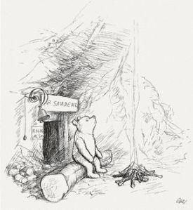 Illustration of Winnie the Pooh